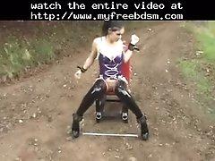 Fetish Porn Lesbian Piercings And Pvc BDSM Bondag