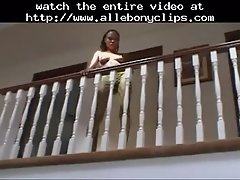 Skinny Ebony Princess Hardcore Fuck Black Ebony Cum