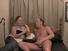 Shannon Makes An Old Pervert Guy Cum