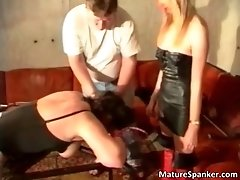 Kinky Group Sex Scene With Nasty Spanking And Bound Bab