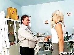 Romana Mature Pussy Speculum Gyno Examination