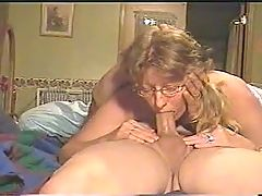 Fabulous Deep Throat By Mature Wife